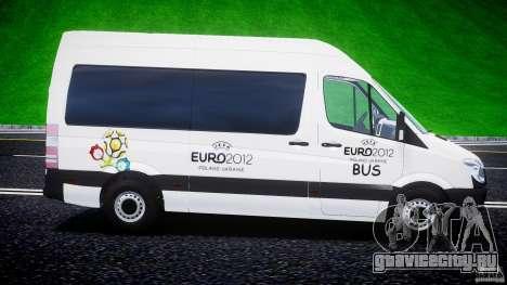 Mercedes-Benz Sprinter Euro 2012 для GTA 4