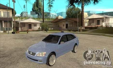Toyota Alteza Wagon для GTA San Andreas