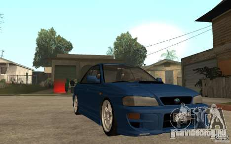 Subaru Impreza GC8 JDM SPEC для GTA San Andreas вид сзади