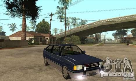 VW Gol GTI 1989 для GTA San Andreas вид сзади