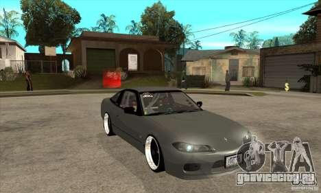 Nissan Silvia S15 1999 для GTA San Andreas вид сзади
