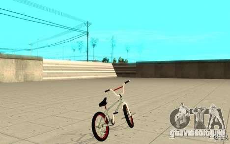 REAL Street BMX mod Chrome Edition для GTA San Andreas вид сзади слева