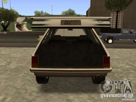 Ford Fiesta 1981 для GTA San Andreas вид справа