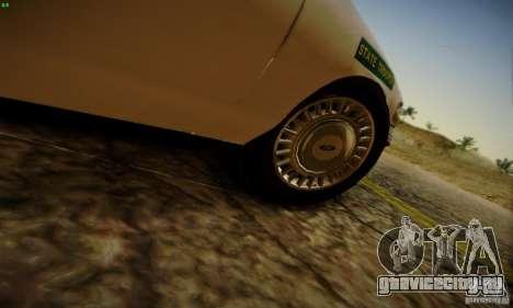 Ford Crown Victoria Missouri Police для GTA San Andreas вид справа