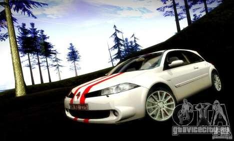 Renault Megane Coupe 2008 TR для GTA San Andreas