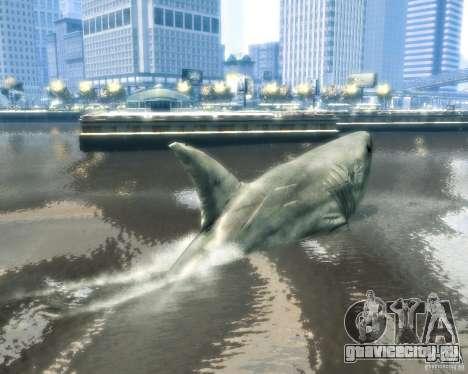 Megalodon для GTA 4 вид сзади