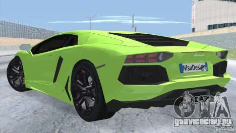 Lamborghini Aventador LP700-4 2012 для GTA San Andreas