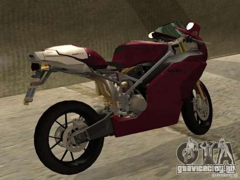 Ducati 999R для GTA San Andreas вид сзади слева