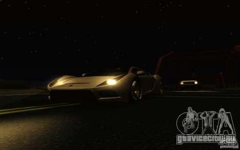 ENBSeries HD для GTA San Andreas одинадцатый скриншот
