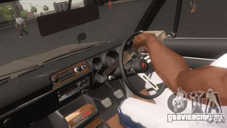 Nissan Skyline 2000 GT-R Coupe для GTA San Andreas вид справа