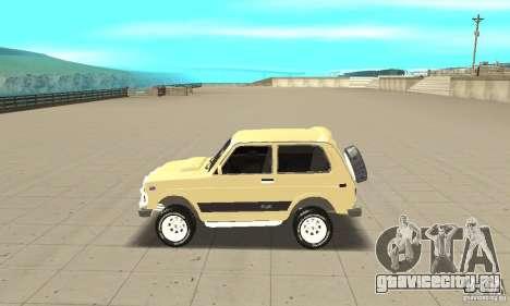 ВАЗ 21213 4x4 для GTA San Andreas вид слева