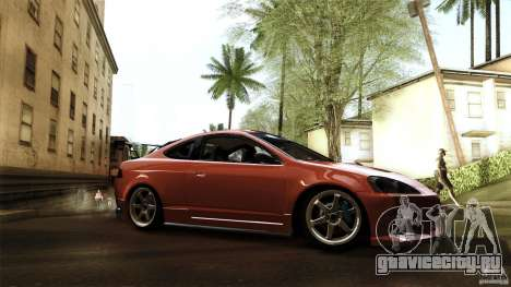 Acura RSX Spoon Sports для GTA San Andreas вид сзади слева