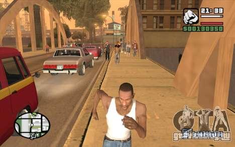 Resident Evil Dead Aim для GTA San Andreas третий скриншот