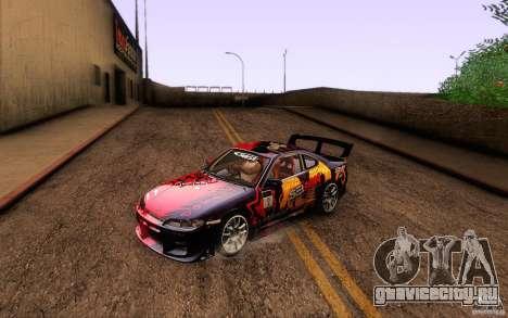 Nissan Silvia S15 Drift Style для GTA San Andreas салон