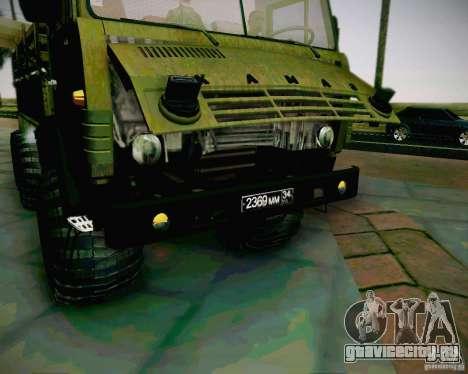 КамАЗ 4310 Армейский для GTA San Andreas вид справа