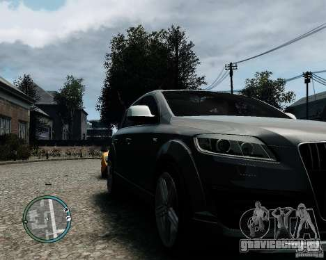 Audi Q7 V12 TDI Quattro Updated для GTA 4 вид слева