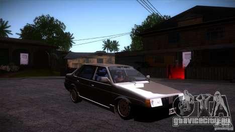 Fiat Regata для GTA San Andreas вид сзади