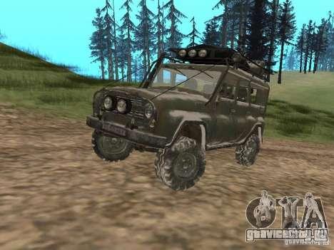 УАЗ-31519 из COD MW2 для GTA San Andreas