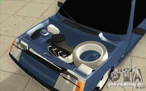 ЗАЗ-1102 Таврия Tuning для GTA San Andreas вид сверху