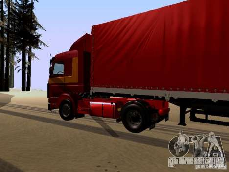 Scania 143M для GTA San Andreas вид справа