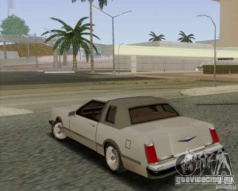 Virgo Continental для GTA San Andreas вид слева