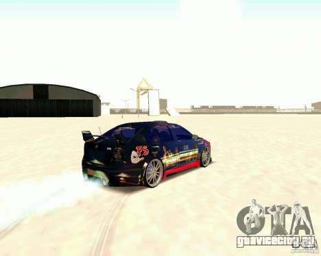 Skoda Octavia III Tuning для GTA San Andreas вид справа