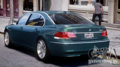 BMW 7 Series E66 для GTA 4 вид сверху