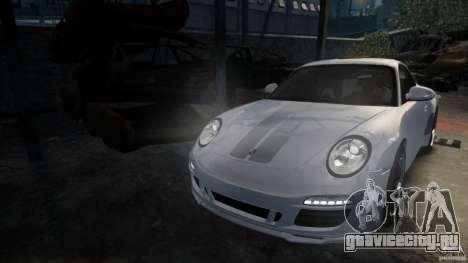 Porsche 911 Sport Classic v2.0 для GTA 4 вид сзади слева