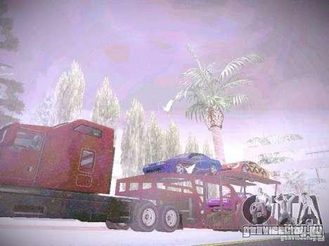 Прицеп Автовоз для GTA San Andreas вид справа