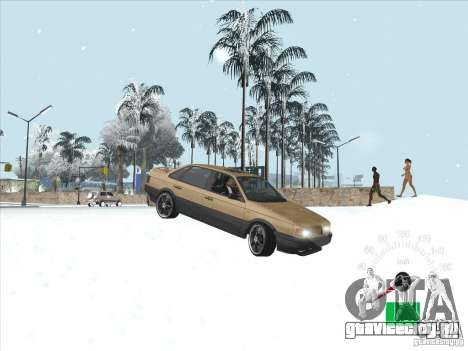 Volkswagen Passat B3 для GTA San Andreas вид сбоку