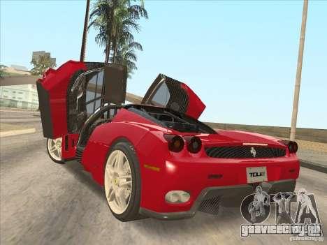 Ferrari Enzo 2010 для GTA San Andreas вид слева