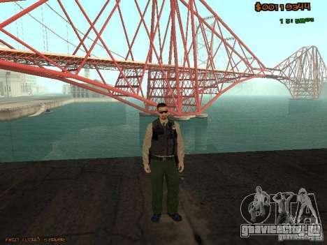 Sheriff Departament Skins Pack для GTA San Andreas третий скриншот