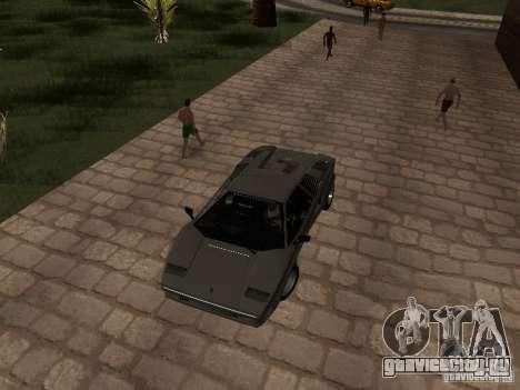 Lamborghini Countach 25th для GTA San Andreas вид справа