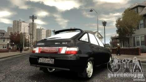 ВАЗ 2112 для GTA 4 вид справа