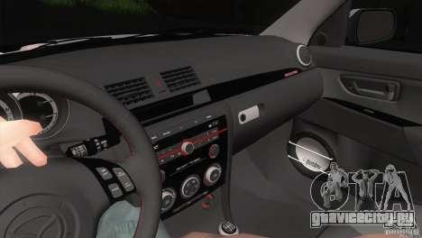 Mazda MazdaSpeed 3 для GTA San Andreas вид сбоку