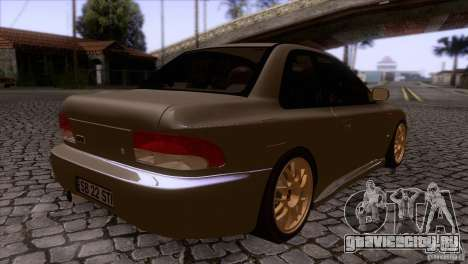 Subaru Impreza 22 для GTA San Andreas вид справа