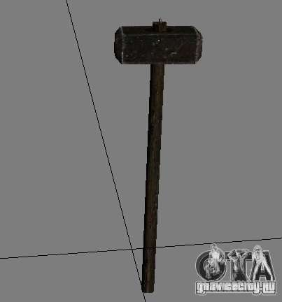 Набор оружия из сталкера V2 для GTA San Andreas десятый скриншот