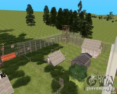 База в Гарели для GTA San Andreas третий скриншот