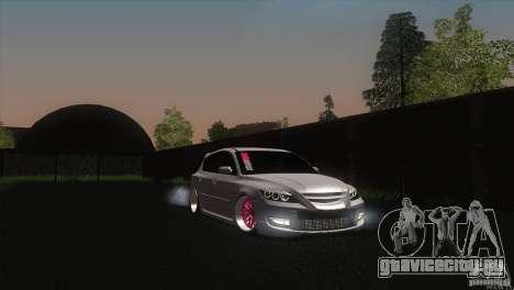 Mazda MazdaSpeed 3 для GTA San Andreas вид справа