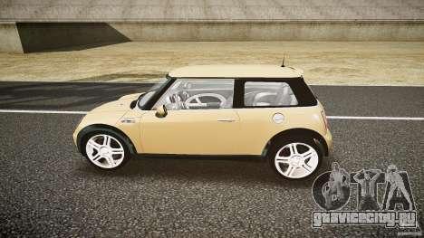 Mini Cooper S для GTA 4 вид слева