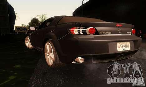 Mazda RX-8 Tuneable для GTA San Andreas вид слева