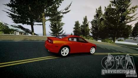 Dodge Charger R/T 2011 Max для GTA 4 вид сзади