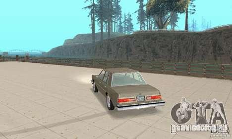 Dodge Diplomat 1985 v2.0 для GTA San Andreas вид слева