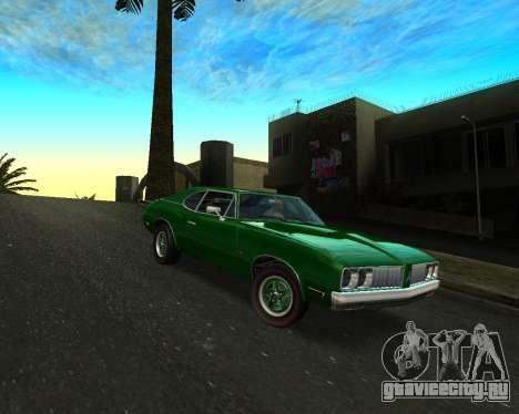 EON Stallion GT-A для GTA San Andreas вид сзади слева