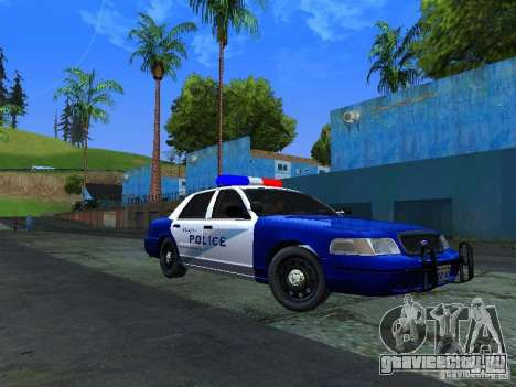 Ford Crown Victoria Belling State Washington для GTA San Andreas вид слева