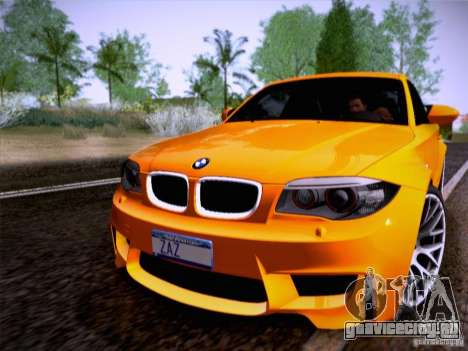 BMW 1M E82 Coupe для GTA San Andreas