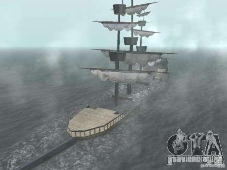 Пиратский корабль для GTA San Andreas шестой скриншот