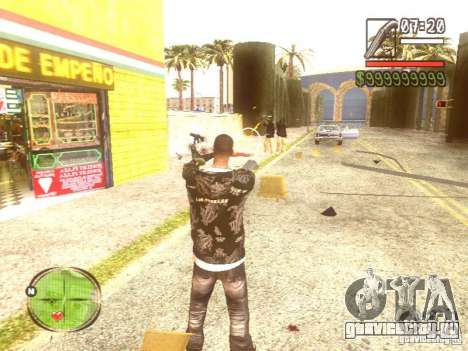 Wild Wild West для GTA San Andreas десятый скриншот