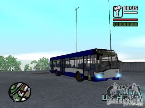 Solaris Urbino 12 для GTA San Andreas