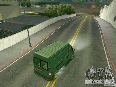 Renault Master для GTA San Andreas вид справа